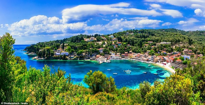 You'll sail around the bays and beaches of Paxos, pictured, and other Greek islands aboard Argentous, a sleek, four-cabin cruise-racer