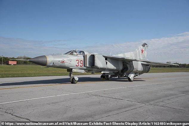 CIA officer Jim Fees masterminded the covert acquisition of the MiG-23MS Flogger fighter jet (pictured) in September 1977 when he was the Cairo station chief