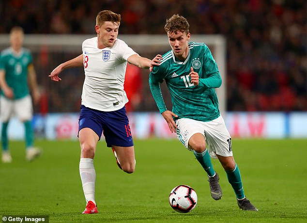 Harvey Barnes was called up to the senior squad but could also drop down to the U21's