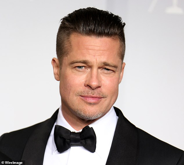 Brad Pitt has also had his hair in the style for his roles in films such as 2014 Second World War movie Fury