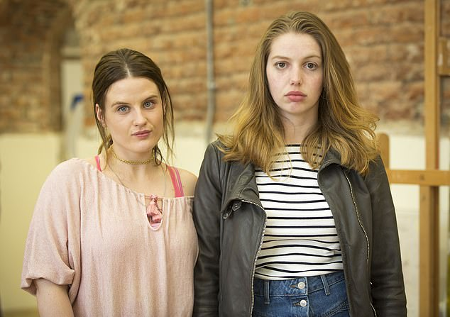 Won't Cope with Seana Kerslake as Aisling O'Dowd and Nika McGuigan as Danielle Mullane
