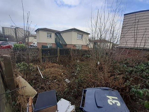 The derelict house is based in a residential area and is around a mile from Bradford city centre