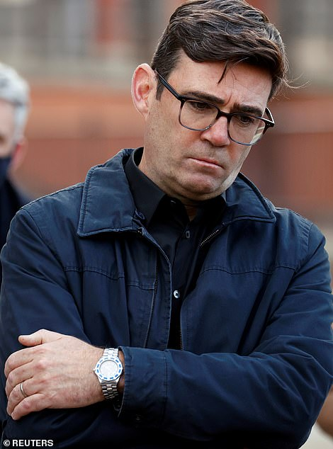 Greater Manchester mayor Andy Burnham today called on the Government to further expand the rollout so that 'younger, more mobile' priority groups could get jabs