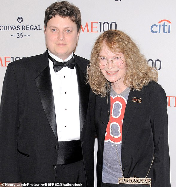 Fletcher Previn and Mia are pictured in 2013 together