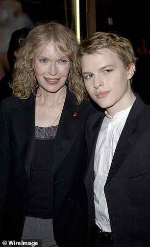 Son Ronan Farrow supports his mother and sister Dylan