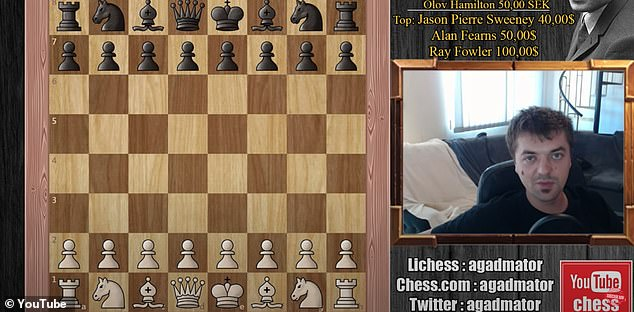 Popular chess YouTuberAntonio Radic had his channel blocked last summer for 'harmful and dangerous' content. He believes the platform's AI mistakenly flagged him for discussing 'black versus white' in a chess conversation