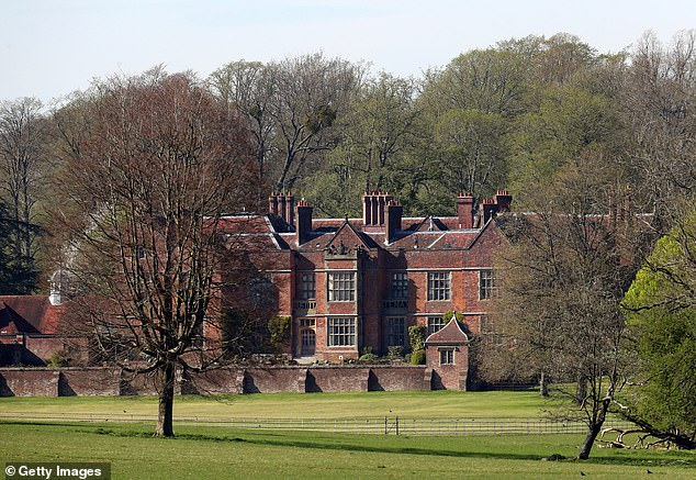 The 16th-century manor house in Buckinghamshire (pictured) has served as the country residence of every prime minister for a century