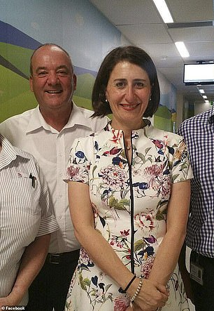 Daryl Maguire and Gladys Berejiklian were dating for five years (pictured)