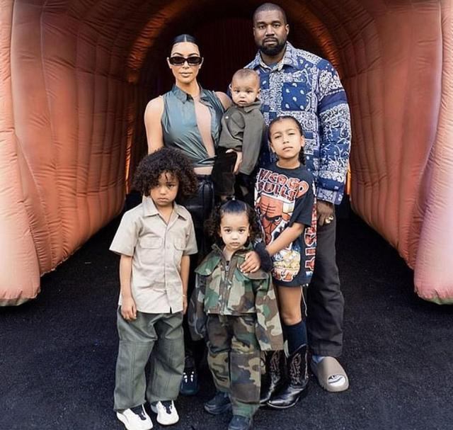 A big family:The reality TV star and makeup guru is asking for joint legal and physical custody of their four children North, Saint, Chicago and Psalm