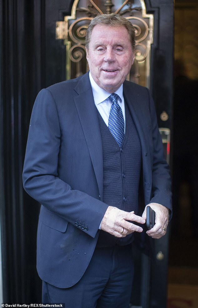 New venture: Harry Redknapp has confirmed he will have a role on upcoming episodes of EastEnders after he was seen arriving on set earlier this week