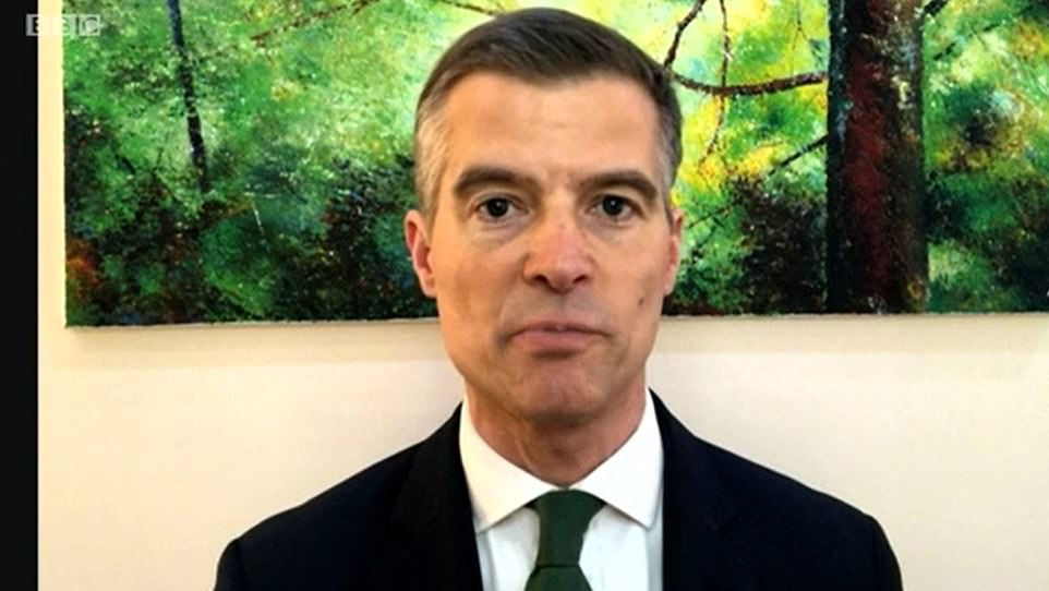 Former Tory chief whip Mark Harper, who leads the Covid Recovery Group, this morning repeated his call for all restrictions be lifted by the end of April, once the most vulnerable groups had been vaccinated under the new timetable