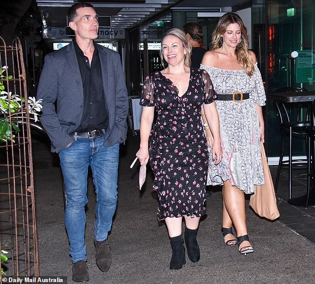 Let's drink to that!  As filming for the new season wrapped up in December, experts on the show were spotted letting their hair down to celebrate in Sydney at a popular Bondi hotspot.
