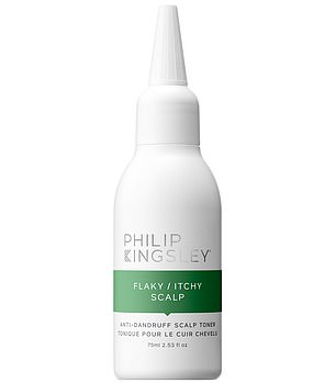 Philip Kingsley Flaky/Itchy Anti-Dandruff Scalp Toner, from £10, philipkingsley.com