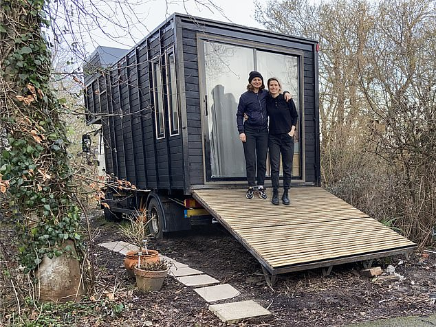Miss Frykfors von Hekkel, who was paying £1,000 per month rent for her Brighton flat, wanted to own her own home but couldn't afford a mortgage