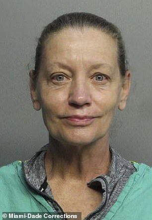 Trump-loving Miami anesthesiologist, Dr Jennifer Susan Wright (pictured), 58, has been charged with a hate crime after Hispanic man, punching him and vandalizing his vehicle, according to local police