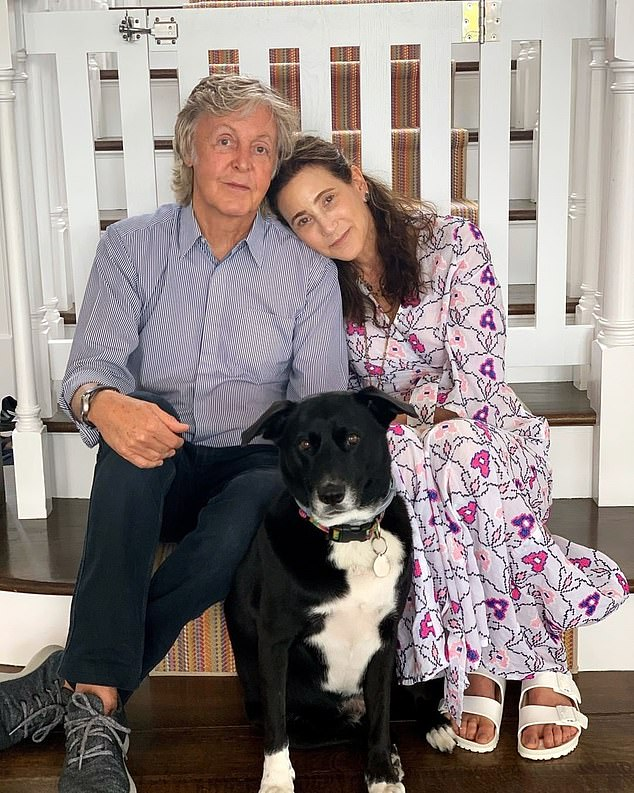 Sir Paul McCartney has shared a photo of an unwanted animal he rescued to mark America¿s Love Your Pet Day. The former Beatle, 78, posted a photo on Instagram of himself with wife Nancy Shevell, 61, and dog Rose