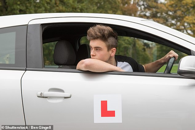 High numbers of cancellations have taken their toll on learner drivers too, with DVSA figures showing a backlog of 342,947 car test bookings [File photo]