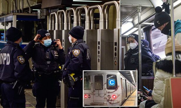 Beggar attacks mom and her 2-year-old son on the New York City subway