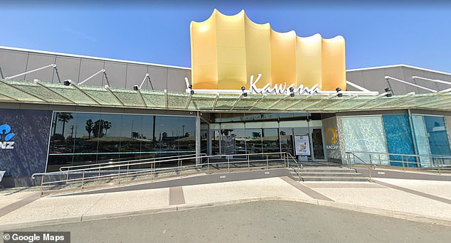 He told the court he is extremely remorseful for his actions and is now focused on kicking his drug habit and gaining meaningful employment. The incident occurred at Kawana Shoppingworld in Buddina (pictured)