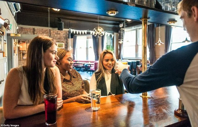 Business leaders and backbench Tories have been urging Mr Johnson to 'be bold' in his plans for reopening the economy, including allowing pubs to get a full summer (stock picture)