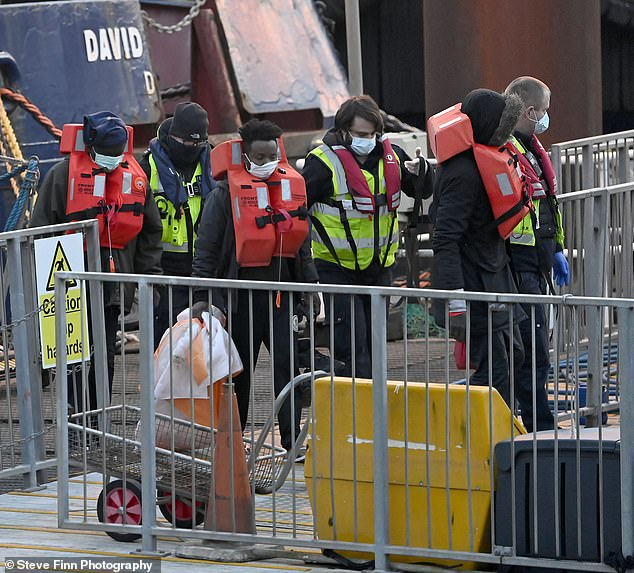 At least 60 migrants are understood to have been rescued from the Channel overnight