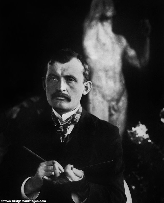 Norwegian painter Edvard Munch (pictured).Many of Munch's works depict life and death scenes, love and terror, and the feeling of loneliness