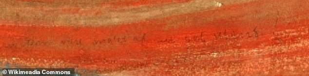 The inscription reads: 'Can only have been painted by a madman'. The factMunch refers to himself in the third person may have accounted for the uncertainty regarding its author