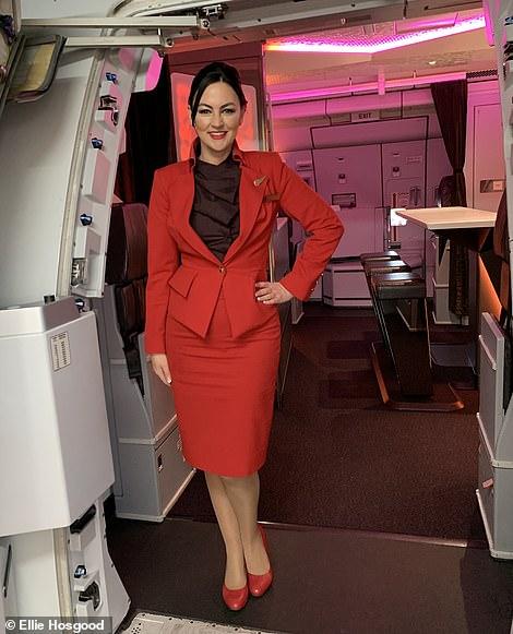 Flight Service Manager Ellie Hosgood during normal times