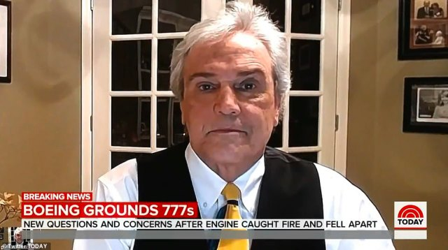 Greg Feith, a former NTSB air safety investigator, expressed his concern over not only how the engine came to be damaged in the first place, but that it caught fire and continued to burn until it landed