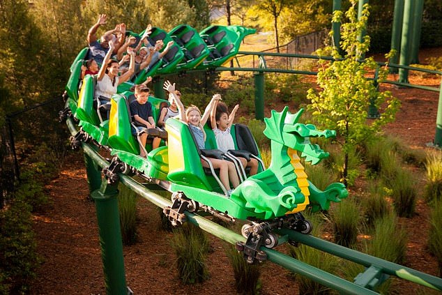 From April 12,theme parks, gyms, zoos and libraries will also be able to open in the country. (Stock image)