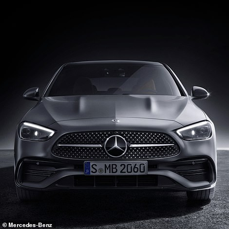 Longer, wider but lower than the model it replaces, prices for the new sixth-generation C-Class start from £38,000