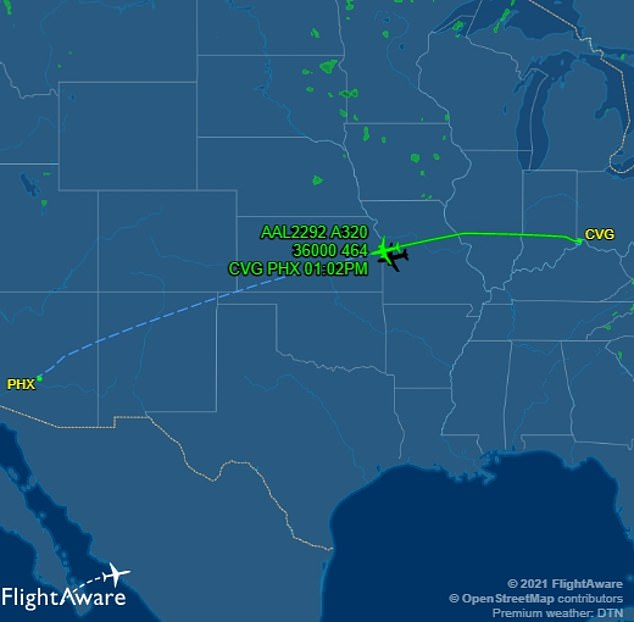 American Airlines flight shares encounter with 'fast-moving cylindrical object' over New Mexico, Nzuchi Times