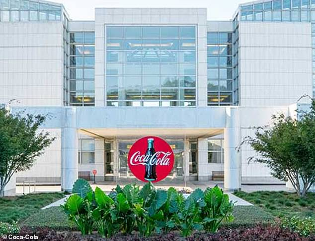 Coca-Cola's headquarters in Atlanta is pictured. A company spokesperson stated: 'We will continue to listen to our employees and refine our learning programs as appropriate'