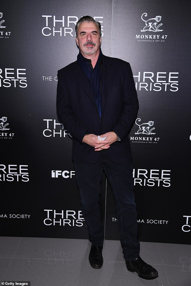 Return?  Chris Noth, 66, sent the Sex And The City fandom into a frenzy after appearing to refute a claim he would not reprise his role as 'Mr. Big' (pictured last year)