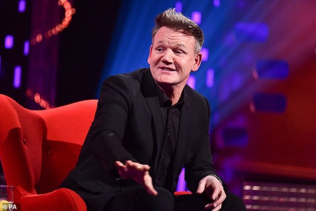'It was fucking painful': Gordon Ramsay has revealed that he underwent knee surgery after injuring himself while running in London, and was told by doctors he had arthritis.