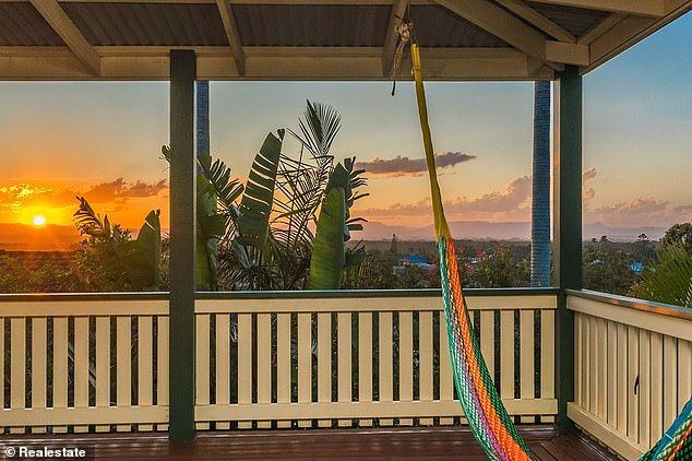 Little wonder Byron Bay's median house price surged by 36 per cent in 2020 to $1.87million, REA Group data showed. Pictured is a seven-bedroom house selling for $5.25million
