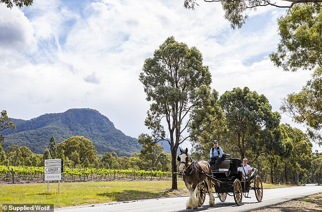 2. Pokolbin, New South Wales: If it's indulgence and relaxation you're after, then the rolling hills and picturesque vistas of Pokolbin is the ideal setting for some R&R