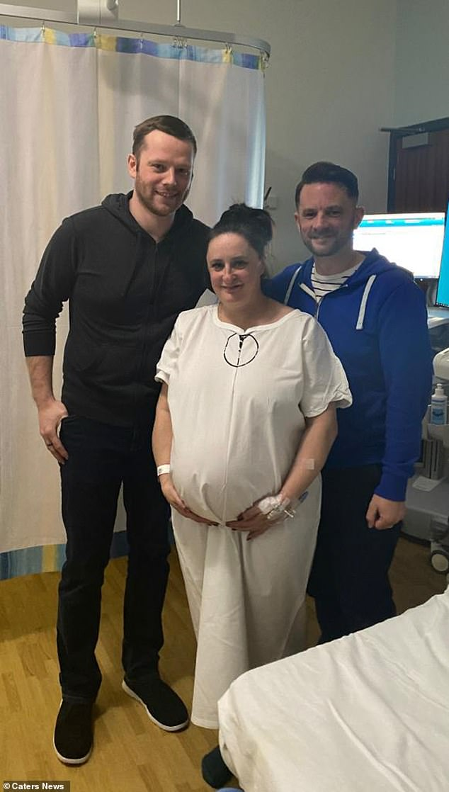 Anthony Deegan, 38, and his partner Ray Williams, 30, were elated when Tracey Hulse, 42, put an end to their year-long search for a surrogate