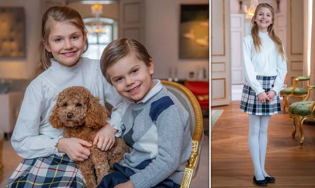 Princess Estelle celebrates her 9th birthday