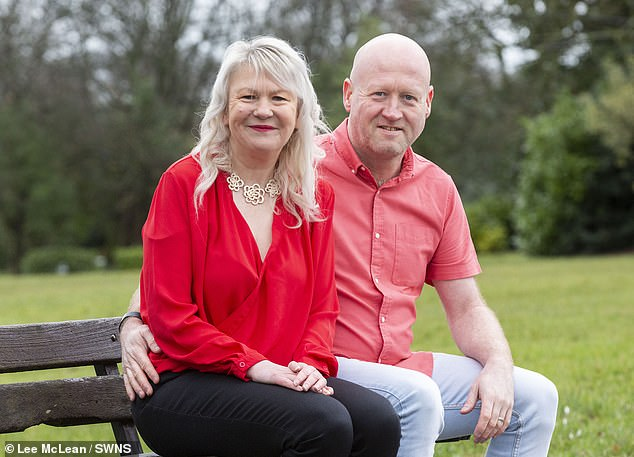 The couple (pictured recently) began walking to work instead of taking lifts in the car and revamped their diet to overhaul their appearance within a year