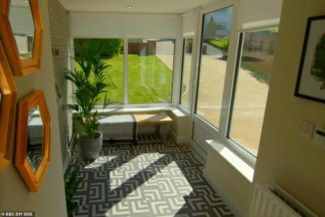 Nick and his team transformed the property in order for it to become more wheelchair accessible for Mandy, including widening hallways and doorframes