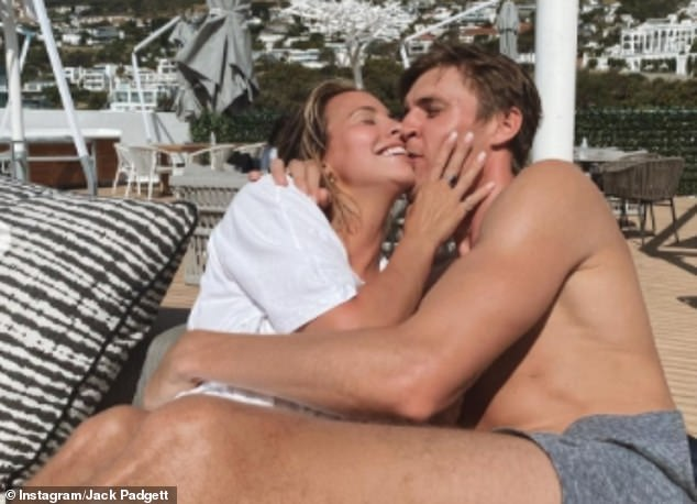 A 'learning' process:The reality star, 30, went public with the model in late December, and she admitted moving in together so quickly has 'fast-forwarded' her romance with her beau