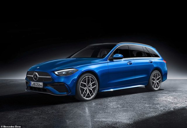 The big-booted C-Class estate will start from £39,000 - just £1,000 more than the saloon