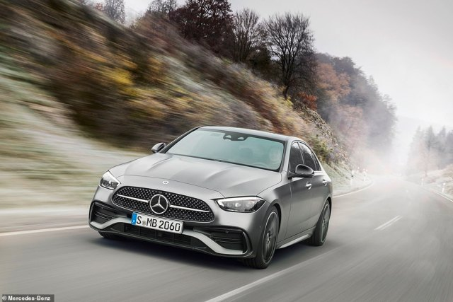 The C-Class is also packed with smart safety kit. Active Steering Assist helps the driver to stay in lane has also been improved. Traffic Sign Assist recognises more signs an even conditional instructions such as when wet