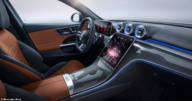 The new C-Class digital assistant system also benefits from online music streaming with millions of songs to choose from