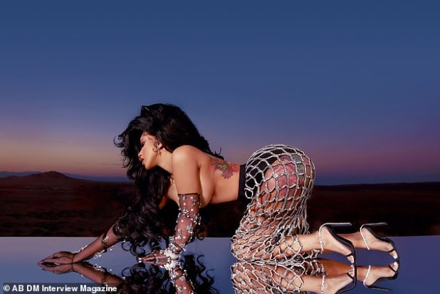 Killer Curves: Cardi looks amazing in an AB + DM shoot and styled by Kollin Carter
