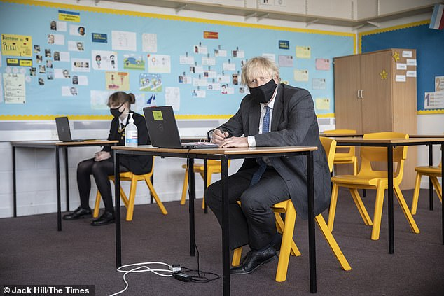 The Prime Minister, a former reporter once sacked by the Times for making up quotes, made the comment while speaking to children at a school in London.