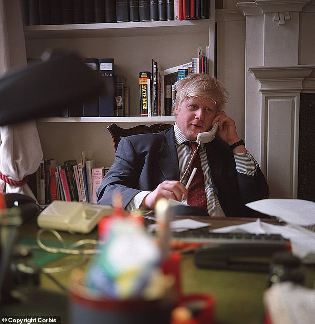Mr Johnson was axed by the Times in 1988 for fabricating a comment from his godfather, the historian Colin Lucas. He later worked for the Telegraph as a reporter and columnist and edited Tory Bible the Spectator (pictured) before being elected MP for Henley.