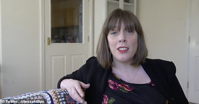 Unimpressed: Labour MP Jess Phillips [pictured] led some of the condemnation of Anthea's remarks