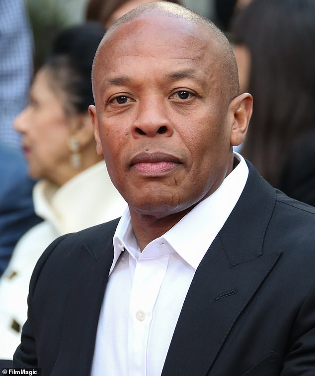 'Greedy b****':In the lyrics Dre refers to someone 'trying to kill me with them lies and that perjury,' and discusses having a recent health crisis; seen in 2018